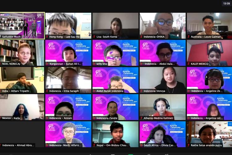 Pelajar Indonesia Panen Medali Kompetisi Matematika Internasional 2021